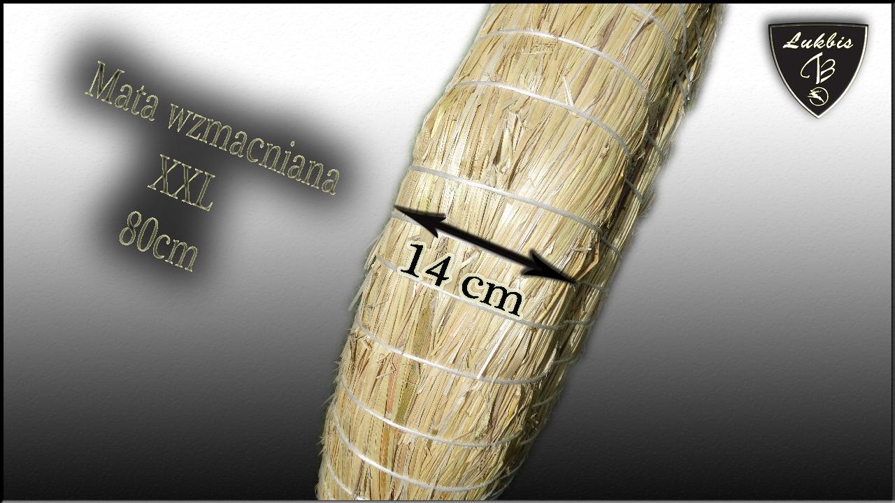Mata Słomiana 80cm XXL